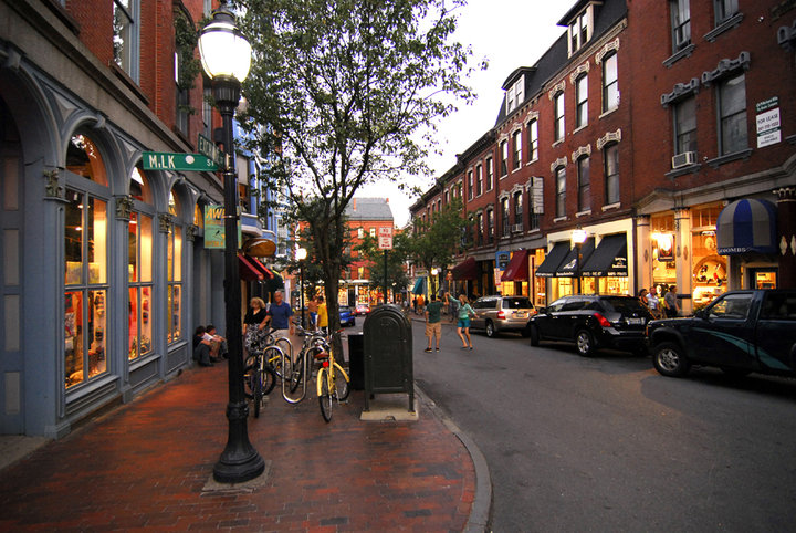 Portland maine enter through the back door part ii the for Best small towns to live in in florida