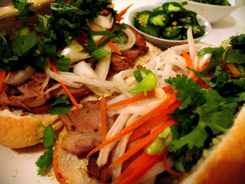 RAD! Caramelized Pork Bánh Mì Sandwiches « Octavia's Vintage