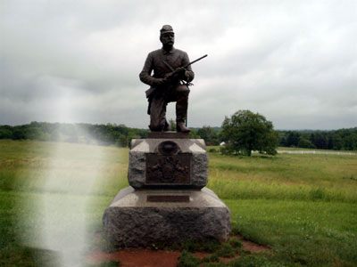 Antietam Battlefield Ghosts Antietam Battlefield is One we